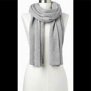 Gap Ribbed Cashmere Scarf